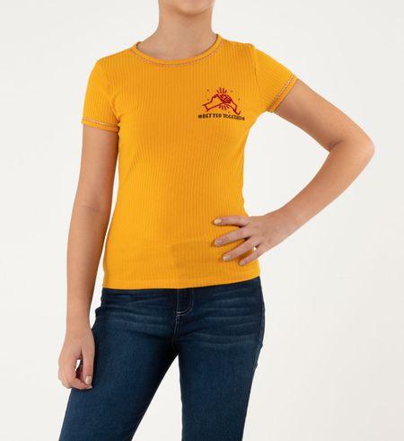 Camiseta-manga-corta-teen-31187214-mostaza_1